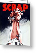 Scrap - Ww2 Propaganda Greeting Card