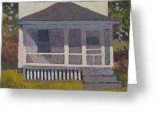 Screened Porch - Art By Bill Tomsa Greeting Card