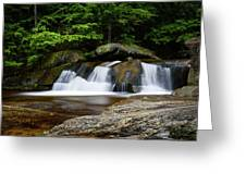 Screw Auger Falls Upper 2 Greeting Card