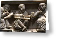 Scribes, 10th Century Greeting Card