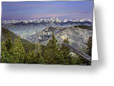 Scull Canyon Greeting Card