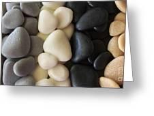 Sculpted Beach Rocks Greeting Card