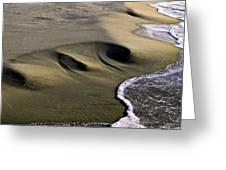 Sculpted Beach Greeting Card