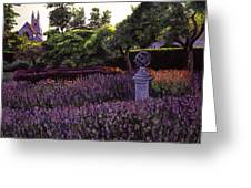 Sculpture Garden Greeting Card