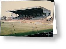 Scunthorpe United - Old Showground - East Stand 2 - 1970s Greeting Card