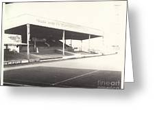 Scunthorpe United - Old Showground - Main Stand 1 - Bw - 1960s Greeting Card
