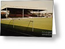 Scunthorpe United - Old Showground - Main Stand 2 - 1970s Greeting Card