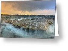 Sea And Stones Greeting Card