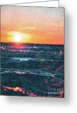 Sea And Sun Greeting Card