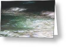 Sea At Night 160 X 220 Cm Greeting Card