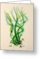 Sea Bed One Greeting Card