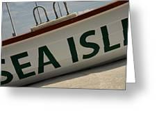 Sea Bound Greeting Card