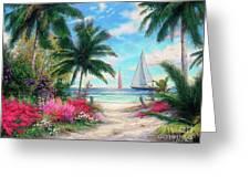 Sea Breeze Trail Greeting Card