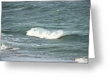 Sea Crest Greeting Card