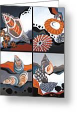 Sea Floor Greeting Card