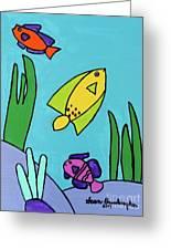 Sea Frolic Greeting Card