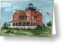 Sea Girt Lighthouse Greeting Card