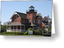 Sea Girt Lighthouse - N J Greeting Card