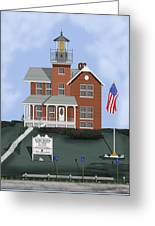 Sea Girt New Jersey Greeting Card