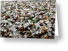 Sea Glass From Mother Nature  Greeting Card