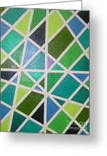 Sea Glass Revisited Greeting Card