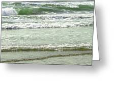 Sea Green Greeting Card