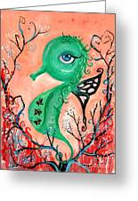 sea horse -In Love Greeting Card