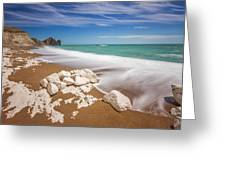 Sea In Motion Greeting Card