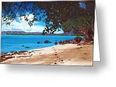 Sea Krait With Chilis Greeting Card
