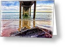 Sea Level Greeting Card