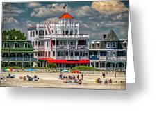 Sea Mist Hotel Greeting Card