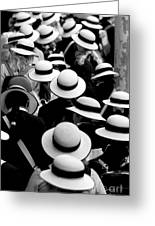 Sea Of Hats Greeting Card