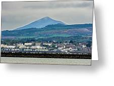 Sea Point And Sugar Loaf Mountain Greeting Card