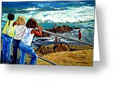 Sea Point Summer Greeting Card