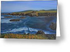 Sea Ranch In Spring Greeting Card