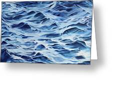 Sea Rhythms Greeting Card