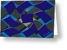 Sea Ripples  Greeting Card