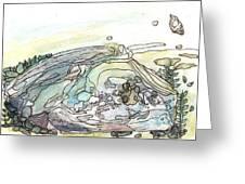 Sea Rock Greeting Card