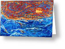 Sea Scene Greeting Card