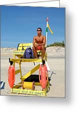 Sea Shore 4 Greeting Card