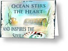 Sea Side-jp2736 Greeting Card