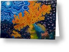 Sea Sponges Greeting Card