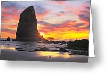 Sea Stacks Greeting Card