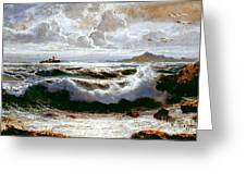Sea Storm Greeting Card