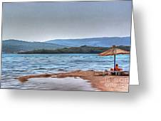 Sea Sun Beach Greeting Card