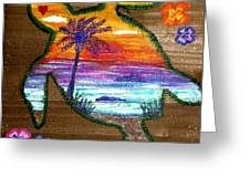 Sea Turtle Love Greeting Card