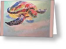 Sea Turtle Greeting Card