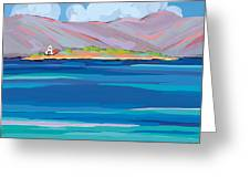 Sea View Galaxidhi Greeting Card