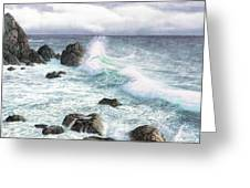 Sea Wave Greeting Card