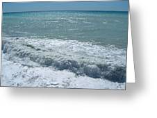 Sea Waves Greeting Card